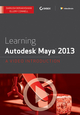 Learning Autodesk Maya 2013: A Video Introduction download (1118465989) cover image