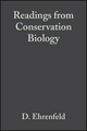 To Preserve Biodiversity (Readings from Conservation Biology) (1444313789) cover image