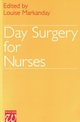 Day Surgery for Nurses (1861560389) cover image