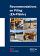 Recommendations on Piling (EA Pfähle) (3433030189) cover image