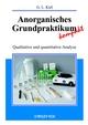 Anorganisches Grundpraktikum kompakt: Qualitative und quantitative Analyse (3527663789) cover image