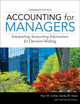 Accounting for Managers, Canadian Edition (EHEP002589) cover image