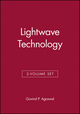 Lightwave Technology, 2-Volume Set (047014758X) cover image