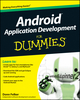 Android Application Development For Dummies (047077018X) cover image