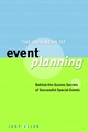 The Business of Event Planning: Behind-the-Scenes Secrets of Successful Special Events (047083188X) cover image