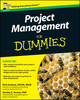 Project Management For Dummies, UK Edition (047097298X) cover image
