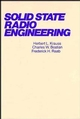 Solid State Radio Engineering (047103018X) cover image