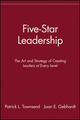 Five-Star Leadership: The Art and Strategy of Creating Leaders at Every Level (047132728X) cover image