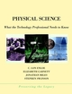 Physical Science: What the Technology Professional Needs to Know (047136018X) cover image
