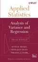 Applied Statistics: Analysis of Variance and Regression, 3rd Edition (047137038X) cover image
