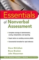Essentials of Nonverbal Assessment (047138318X) cover image