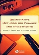 Quantitative Methods for Finance and Investments (063122338X) cover image