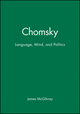 Chomsky: Language, Mind, and Politics (074561888X) cover image