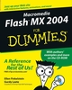 Macromedia Flash MX 2004 For Dummies (076454358X) cover image
