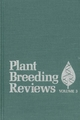 Plant Breeding Reviews, Volume 3 (111806108X) cover image