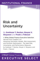 Risk and Uncertainty (111808618X) cover image
