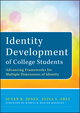 Identity Development of College Students: Advancing Frameworks for Multiple Dimensions of Identity (111848228X) cover image
