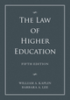 The Law of Higher Education, A Comprehensive Guide to Legal Implications of Administrative Decision Making, 2 Volume Set, 5th Edition (111853428X) cover image