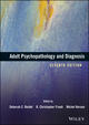 Adult Psychopathology and Diagnosis, 7th Edition (111865708X) cover image
