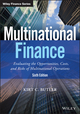 Multinational Finance: Evaluating the Opportunities, Costs, and Risks of Multinational Operations, 6th Edition (111921968X) cover image