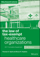 The Law of Tax-Exempt Healthcare Organizations 2017 Cumulative Supplement, 4th Edition + Website (111934638X) cover image