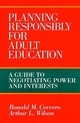 Planning Responsibly for Adult Education: A Guide to Negotiating Power and Interests (155542628X) cover image