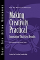 Making Creativity Practical: Innovation That Gets Results (188219778X) cover image