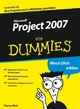 MS Project 2007 für Dummies (352765738X) cover image
