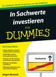 In Sachwerte investieren für Dummies (352780238X) cover image