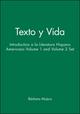 Texto y Vida: Introduction a la Literatura Hispano Americano Volume 1 and Volume 2 Set (0470004290) cover image