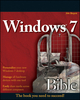 Windows 7 Bible (0470509090) cover image