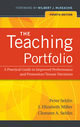 The Teaching Portfolio: A Practical Guide to Improved Performance and Promotion/Tenure Decisions, 4th Edition (0470538090) cover image