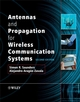 Antennas and Propagation for Wireless Communication Systems, 2nd Edition (0470848790) cover image