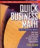 Quick Business Math: A Self-Teaching Guide (0471116890) cover image