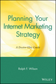Planning Your Internet Marketing Strategy: A Doctor Ebiz Guide (0471441090) cover image