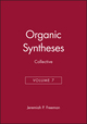 Organic Syntheses, Collective Volume 7 (0471515590) cover image
