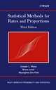 Statistical Methods for Rates and Proportions, 3rd Edition (0471526290) cover image