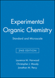Experimental Organic Chemistry: Standard and Microscale, 2nd Edition (0632048190) cover image