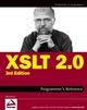 XSLT 2.0 Programmer's Reference, 3rd Edition (0764569090) cover image