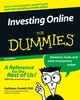 Investing Online For Dummies, 5th Edition (0764598090) cover image