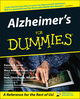 Alzheimer's For Dummies (1118068890) cover image