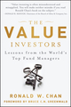 The Value Investors: Lessons from the World's Top Fund Managers (1118339290) cover image
