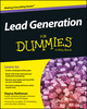 Lead Generation For Dummies (1118815890) cover image