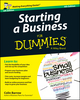 Starting a Business For Dummies, 4th Edition (1118837290) cover image