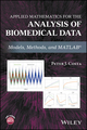Applied Mathematics for the Analysis of Biomedical Data: Models, Methods, and MATLAB (1119269490) cover image