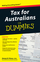 Tax for Australians For Dummies (1742168590) cover image