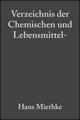 Verzeichnis der Chemischen und Lebensmittel- Untersuchungsämter in der Bundesrepublik Deutschland (3527624090) cover image