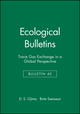 Ecological Bulletins, Bulletin 42, Trace Gas Exchange in a Global Perspective (8716150090) cover image