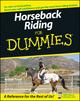 Horseback Riding For Dummies (0470097191) cover image