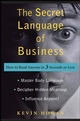 The Secret Language of Business: How to Read Anyone in 3 Seconds or Less (0470222891) cover image